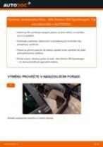 Podrobné PDF tutoriály, jak vyměnit Sada Na Opravy Brzdový Třmen na autě Audi A4 b7