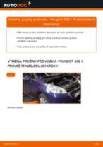 Výměna System rychleho startu PEUGEOT 208: zdarma pdf