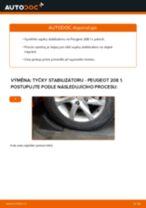 Podrobné PDF tutoriály, jak vyměnit Zkrutna tyc na autě Nissan Navara d40 Pick-up