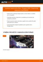 PDF návod na výměnu: Kabinovy filtr PEUGEOT 208 I Hatchback (CA_, CC_)
