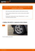 Doporučení od automechaniků k výměně RENAULT Renault Scenic 2 1.5 dCi Brzdové Destičky