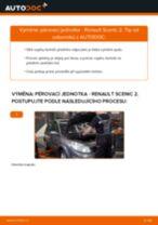 Jak vyměnit přední pérovací jednotka na Renault Scenic 2 – návod k výměně
