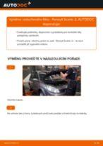 Doporučení od automechaniků k výměně RENAULT Renault Scenic 2 1.5 dCi Zkrutna tyc