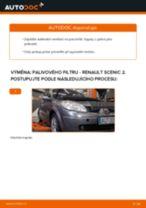 Jak vyměnit palivový filtr na Renault Scenic 2 – návod k výměně