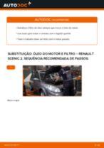 Guia passo-a-passo do reparo do Renault Scenic 3