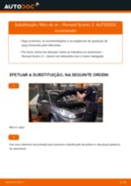 Manual de solução de problemas do RENAULT SCÉNIC