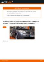 PDF manual sobre manutenção de SCÉNIC