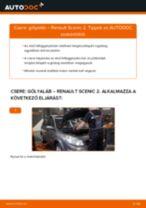 Elülső gólyaláb-csere Renault Scenic 2 gépkocsin – Útmutató