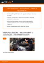 Pollenszűrő-csere Renault Scenic 2 gépkocsin – Útmutató