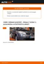 Autószerelői ajánlások - Renault Scenic 2 1.5 dCi Féktárcsa cseréje