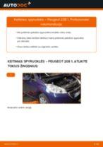 Stabdžių Kaladėlės pakeitimas BMW F23 - patarimai ir gudrybės