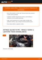 Automechanikų rekomendacijos RENAULT Renault Scenic 2 1.5 dCi Stabdžių Kaladėlės keitimui