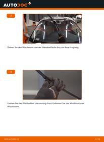 Wie der Wechsel durchführt wird: Scheibenwischer 1.9 dCi Renault Scenic 2 tauschen