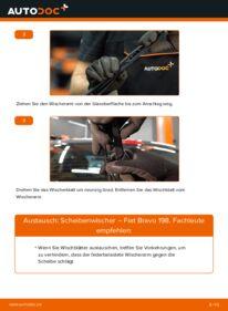 Wie der Wechsel durchführt wird: Scheibenwischer 1.9 D Multijet FIAT BRAVO II (198) tauschen