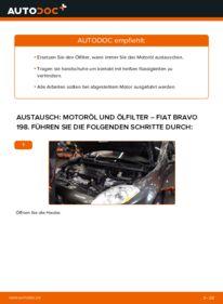 Wie der Wechsel durchführt wird: Ölfilter 1.9 D Multijet FIAT BRAVO II (198) tauschen