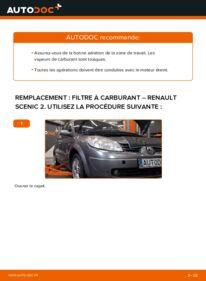 Comment effectuer un remplacement de Filtre à Carburant sur 1.9 dCi Renault Scenic 2