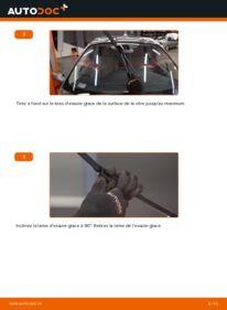 Comment effectuer un remplacement de Essuie-Glaces sur 1.9 dCi Renault Scenic 2