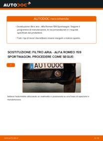 Come effettuare una sostituzione di Filtro Aria su ALFA ROMEO ? Dai un'occhiata alla nostra guida dettagliata e scopri come farlo