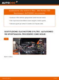 Come effettuare una sostituzione di Filtro Olio su ALFA ROMEO ? Dai un'occhiata alla nostra guida dettagliata e scopri come farlo