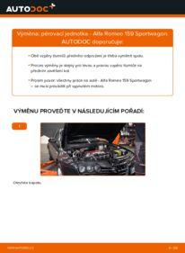 Jak provést výměnu: Tlumic perovani na 1.9 JTDM 16V Alfa Romeo 159 Sportwagon