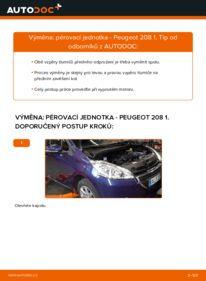 Jak provést výměnu: Tlumic perovani na 1.4 HDi Peugeot 208 1