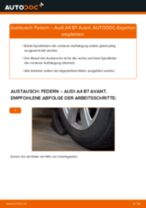 Federn wechseln AUDI A4: Werkstatthandbuch