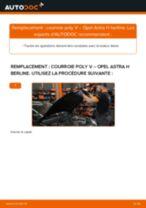 Notre guide PDF gratuit vous aidera à résoudre vos problèmes de OPEL Opel Astra G 1.6 (F08, F48) Bobines d'Allumage
