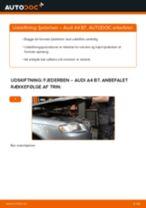Lær hvordan skifter Bremsehovedcylinder på SEAT - gratis instruktionsbog