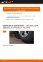 Come cambiare testine sterzo su Audi A4 B7 Avant - Guida alla sostituzione