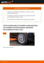 Cambio Asta puntone stabilizzatore posteriore e anteriore ALFA ROMEO da soli - manuale online pdf