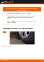Byta fjäderben fram på Audi A4 B7 Avant – utbytesguide