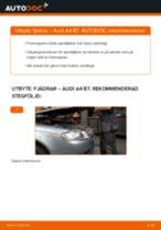 Byta fjädrar fram på Audi A4 B7 – utbytesguide