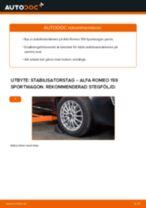 Gratis instruktioner online hur installerar man Stabiliseringsstag ALFA ROMEO 159 Sportwagon (939)