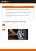 Montering Hjullagersett OPEL ASTRA H Saloon (L69) - steg-for-steg manualer