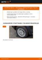 Bytte Hovedbremsesylinder MERCEDES-BENZ gjør-det-selv - manualer pdf på nett