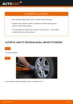 Kuinka vaihtaa pyöränlaakerit eteen Opel Astra H sedan-autoon – vaihto-ohje
