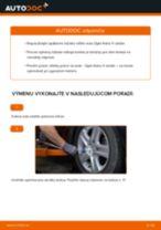 Ako vymeniť a regulovať Lozisko kolesa OPEL ASTRA: sprievodca pdf