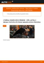 Jak vyměnit drážkový řemen na Opel Astra H sedan – návod k výměně