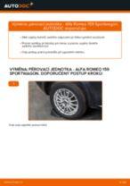 Jak vyměnit a regulovat Hlavni brzdovy valec ALFA ROMEO 159: průvodce pdf