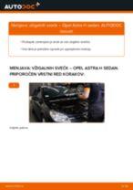 DENSO T04 za Astra H Sedan (A04) | PDF vodič za zamenjavo