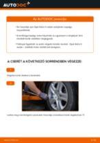 Elülső kerékcsapágy-csere Opel Astra H sedan gépkocsin – Útmutató