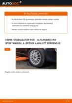 LEMFÖRDER 30474 01 mert 159 Sportwagon (939) | PDF változtatni útmutató