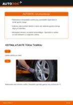 Kaip pakeisti ir sureguliuoti Rato guolis OPEL ASTRA: pdf pamokomis
