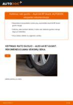 AUDI gale ir priekyje Rato guolis keitimas pasidaryk pats - internetinės instrukcijos pdf