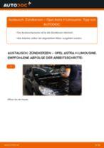 Anleitung: Opel Astra H Limousine Zündkerzen wechseln