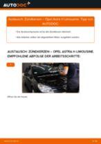Wie Opel Astra H Limousine Zündkerzen wechseln - Schritt für Schritt Anleitung