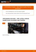 Hoe bougies vervangen bij een Opel Astra H sedan – vervangingshandleiding