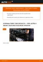 Jak wymienić świece zapłonowe w Opel Astra H sedan - poradnik naprawy