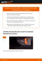 Wie wechselt man Kabinenluftfilter beim OPEL ASTRA H Saloon (L69)
