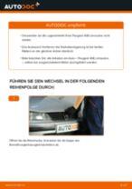 Installation von Radlagersatz PEUGEOT 406 (8B) - Schritt für Schritt Handbuch